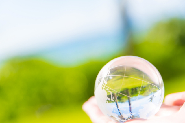 環境理念|クリーンな地球、人にやさしい環境づくり。